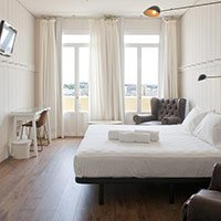 os melhores hotéis de preço médio de Madri: Praktik Metropol