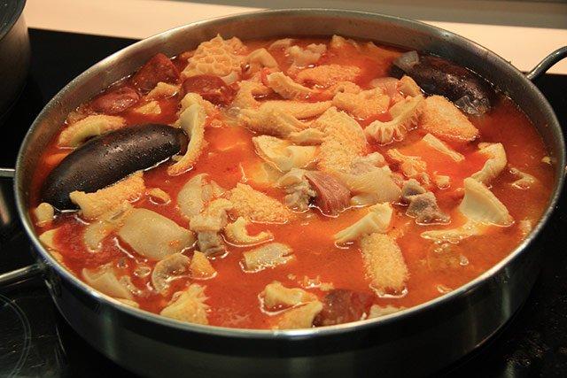 pratos típicos de Madri: callos a la madrileña